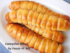 Caterpillar Bread | Fauzia's Kitchen Fun