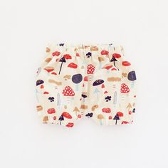 Mushroom Baby Bloomers Toadstool Diaper Cover by moonroomkids