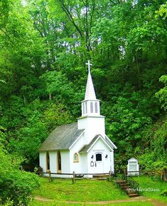 Beautiful small country church....