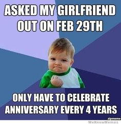 Hahahahaha... This would be an interesting excuse for forgetting an anniversary!!