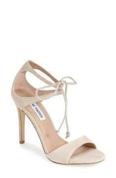 Steve Madden 'Semona' Suede Ankle Strap Sandal (Women) available at #Nordstrom