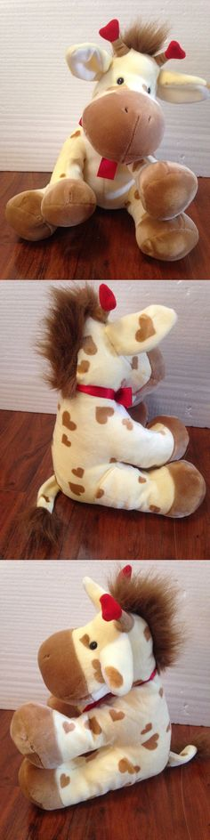 Applause 2596: Applause Russ Berrie 15 Yellow Baby Giraffe Plush Toy Beanie Animal Soft -> BUY IT NOW ONLY: $35 on eBay!
