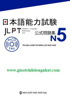 Tài liệu luyện thi Năng lực Nhật ngữ N5 – Đề thi (Kèm CD)