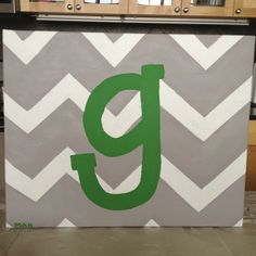 Great gift for any baby shower or wedding! Take a canvas and paint the brides new initial on it in her wedding color or a color that matches her home decor. Or paint the first letter of the baby's first or last name in their nursery colors. It's a personal gift that the new couple or new parents can look at and remember who painted it for them! I just did this for a wedding :)