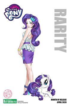 Rarity Human, Rarity Pony, My Little Pony Rarity, Little Pony Party, My Little Pony Drawing, Cute Cartoon Characters, My Little Pony Characters, Cartoon Art, Raimbow Dash