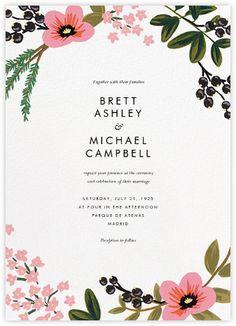 March Herbarium (Invitation) - Paperless Post
