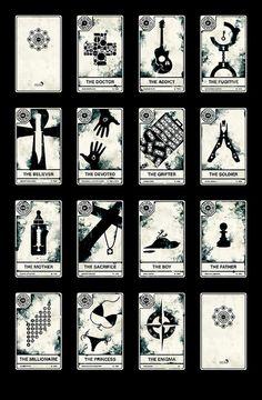 LOST Tarot Cards --> http://All-About-Tarot.com <--
