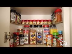 how to make a spice rack, diy, how to, organizing, storage ideas