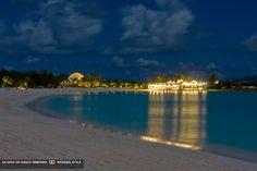 beach at night at cap juluca anguilla british west indies #GOWSRedesign
