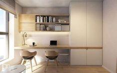 Home Office Decor Home Office Space, Home Office Decor, Office Desk, Office Interior Design, Office Interiors, Study Room Design, Furniture Design, Room Decor, House Design