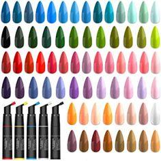 best gel polish brand Gel Nail Polish Brands, Shellac Nail Polish, Best Gel Nail Polish, Uv Gel Nails, Sally Hansen, Essie, Hacks, Tips