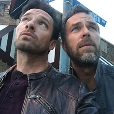 #IanBohen #JRBourne From Ian Bohen's Instagram. Love them...   Ian -Did I leave the gas on?   JR -Am I as beautiful as everyone says...