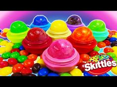 DIY: EOS you can EAT!!! EDIBLE GUMMY BEAR EOS CANDY LOLLY POP TREATS!!! So Easy & Sweet to Eat! - YouTube