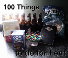 100 Things to Do for Lent | Held By His Pierced Hands