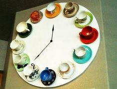Tea Cup Clock  Tutorial