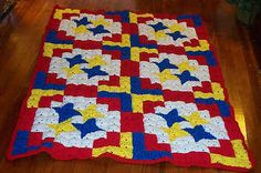 Big Top Crochet Quilt ~ free pattern
