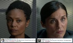 Thandie Newton and Vicky McClure rivalry in Line of Duty