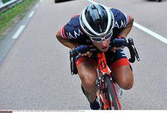 Tour de France 2014 - Stage 8: Tomblaine - Gérardmer La Mauselaine 161km photos - Sylvain Chavanel (IAM Cycling) in the day's breakaway Photo credit © Tim de Waele/TDW Sport
