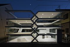 In Japan, An Amazing Maze-Like House With A Completely Transparent Façade