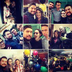 Recordando buenos momentos con los mejores! #supresencia #teatro #actores #obra #jovenes #miiglesia #production #utileria #look #dizfras #colorful #maquillaje #amigos #risa #premios #staff #micasa