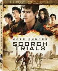 Can You Feel the Heat? 'The Maze Runner: The Scorch Trials' Dated and Detailed for Blu-ray | High-Def Digest-out on DVD December 15 just in time for Christmas!
