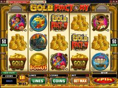 Where can you win as many as 619000 coins? Only the Gold Factory #onlineslots at Vegas Paradise can. Join now, play with £5 bonus and win it