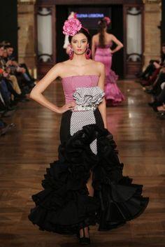 Traje de Flamenca - Certamen-de-Disenadores-Noveles-de-la-Provincia - We-love-flamenco-2015