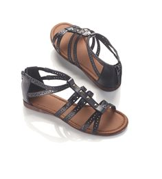 Lovely Cutout Gladiator Sandal