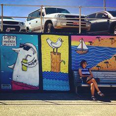 #fanphoto from @shanshanc1  Too cool for Bondi ..#bondibeach #bondibeachsydney #bondi #bondistreetart  #bondi #bondibeach #bondiwall #bondiartwall #bondibeachgraffitiwall #fun #sea #surf #sydney #streetart #graffiti #instagraffiti #australia #hipsters #mural #murals #sydneystreetart #bondigraffiti #communitywall #graffitiart by bondibeachgraffitiwall http://ift.tt/1KBxVYg