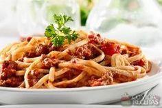 Receita de Macarrão com molho picante de carne em receitas de massas, veja essa e outras receitas aqui!