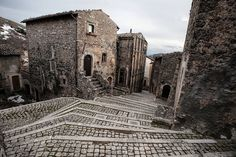 Medieval Alley in Italy By Liron Buzaglo | por thegryphonsnest
