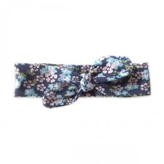 Summer Floral Knotted Headband - our favorite gift for the little babes! Perfect for Newborn to toddler age.
