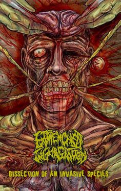 GERATHRASH - extreme metal: Entrenched Ingurgitation - Dissection Of An Invasi...