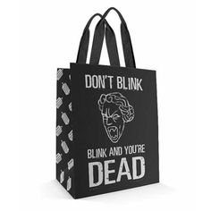 All Doctor Who, Midtown Comics, Through Time And Space, You're Dead, Funky Design, Don't Blink, Reusable Grocery Bags, Book Lovers Gifts