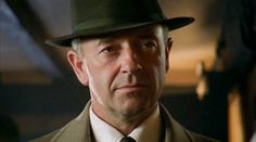 "Michael Kitchen as DCS Christopher Foyle in ""Foyle's War: The German Woman"" (pilot episode) 