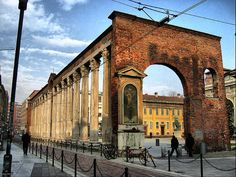 Columns of San Lorenzo Maggiore | #Milan