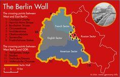 berlin wall map - Google leit