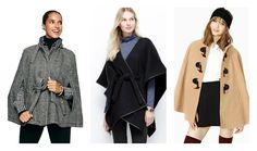 Effortlessly cool capes for cooler days ahead