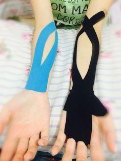 Bandagem para epicondilite lateral e medial.