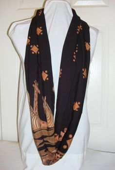 African Safari Infinity Scarf by madametosh on Etsy, $19.00