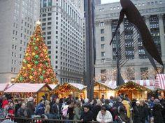 Christkindlmarket Chicago in Daley Plaza