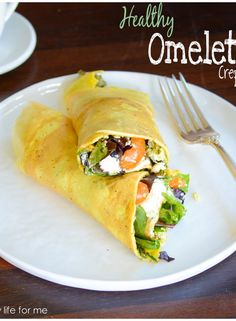 Egg Eomet Crepe Style | ahealthylifeforme.com