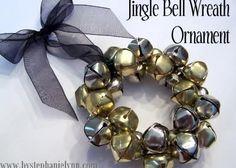 Jingle Bell Wreath Ornament {No.12}