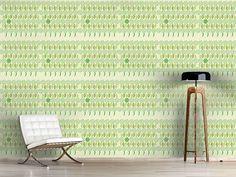 Design #Tapete Florale Achterreihe Im Frühling