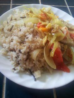 4 clase de arroz y bacalao