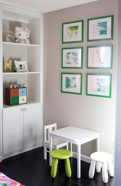 4 Ideas For Making Your Kids' Art Look Smart | Apartment Therapy
