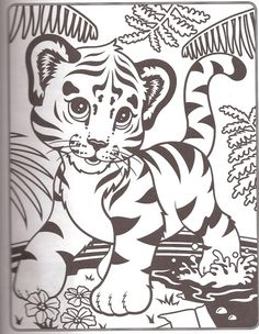 free online Lisa Frank Coloring Pages printable - Enjoy Coloring