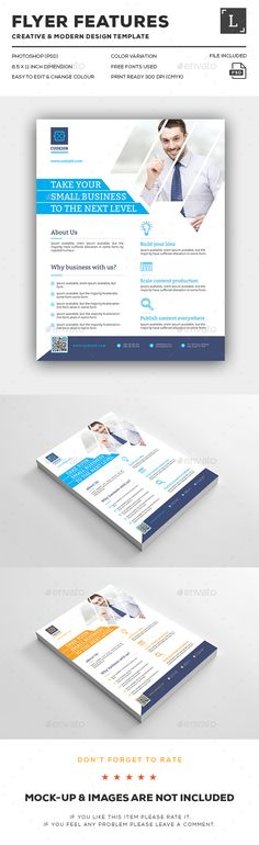 Corporate Flyer - Flyers Print Templates Corporate Flyer, Corporate Design, Business Design, Flyer Design, Layout Design, Web Design, Creative Design, Modern Design, Template Brochure