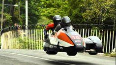 IOM TT 2013 Team France side-car
