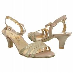 Womens Rampage Jamarcus Gold Satin Shoes.com
